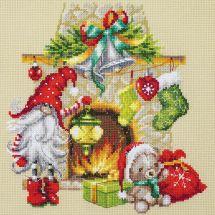 Kit point de croix - Magic Needle - En attendant Noël