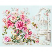 Kit point de croix - Magic Needle - Des roses pour la duchesse