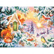 Kit point de croix - Magic Needle - Matin d'hiver