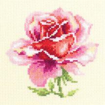 Kit point de croix - Magic Needle - Rose