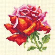 Kit point de croix - Magic Needle - Rose rouge