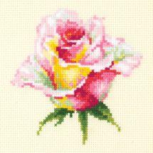 Kit point de croix - Magic Needle - Rose épanouie