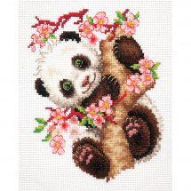 Kit point de croix - Magic Needle - Panda