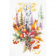 Kit point de croix - Magic Needle - Esprit de la forêt d'automne