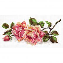 Kit point de croix - Magic Needle - L'odeur des roses