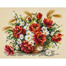 Kit point de croix - Magic Needle - Bouquet de fleurs sauvages