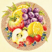 Kit point de croix - Magic Needle - Fruits