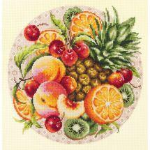 Kit point de croix - Magic Needle - Fruits exotiques