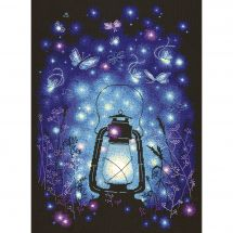 Kit point de croix - Magic Needle - Lumière magique