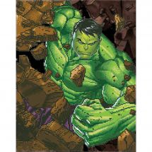 Kit de broderie Diamant - Camelot Dotz - Hulk