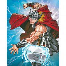 Kit de broderie Diamant - Camelot Dotz - Thor
