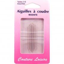Aiguilles à coudre - Couture loisirs - Aiguilles à coudre main - Tailles 3-9