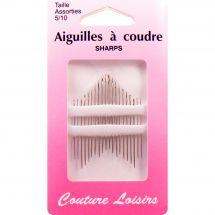 Aiguilles à coudre - Couture loisirs - Aiguilles à coudre main - Tailles 5-10