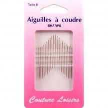 Aiguilles à coudre - Couture loisirs - Aiguilles à coudre main - Taille 8