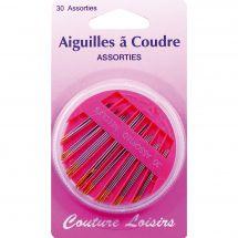 Aiguilles à coudre - Couture loisirs - Boîte de 30 aiguilles à coudre main