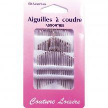 Aiguilles à coudre - Couture loisirs - Boîte de 50 aiguilles à coudre main