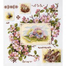 Kit point de croix - Merejka - Images de printemps