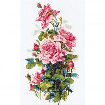 Kit point de croix - Merejka - Roses