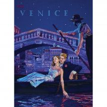 Kit point de croix - Merejka - Visitez Venise