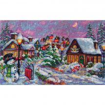 Kit point de croix - Merejka - Nuit de Noël