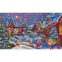 Kit point de croix - Merejka - L'invité de Noël