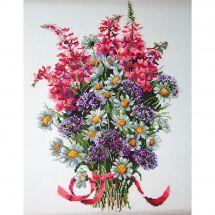 Kit point de croix - Merejka - Bouquet des champs