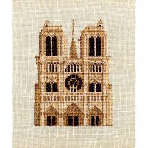 Kit point de croix - Luc Créations - Notre Dame de Paris