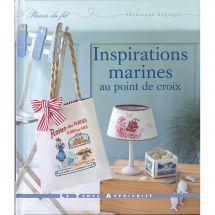 Livre - Le temps apprivoisé - Inspirations marines au point de croix