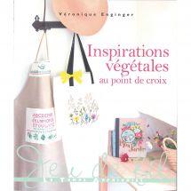 Livre - Le temps apprivoisé - Inspirations végétales au point de croix