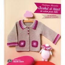 Livre - Marie Claire - Crochet et tricot en coton pour bébé