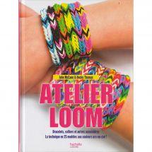 Livre - Hachette Loisirs - Atelier bracelets Loom