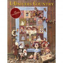 Livre patron - Les éditions de saxe - L'univers Country