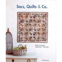Livre - Les éditions de saxe - Sacs, Quilts