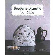 Livre - Les éditions de saxe - Broderie blanche pas à pas