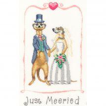 Kit point de croix - Héritage - Juste mariés