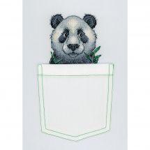 Kit customisation - MP Studia - Panda joyeux