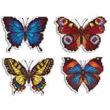 Kit de magnet à broder - MP Studia - Magnets papillons