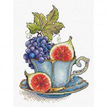 Kit point de croix - MP Studia - Tasse de fruits