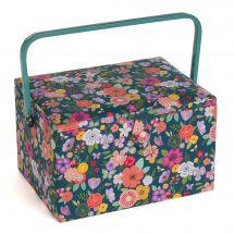 Coffret à ouvrages - LMC - Coffret à ouvrages - Jardin floral