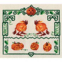 Kit point de croix - Nimuë fée main - Halloween