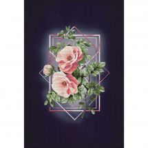 Kit point de croix - Nova Sloboda - Ode à la rose