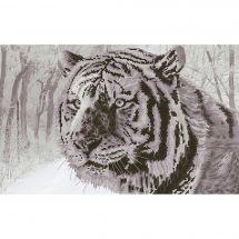 Kit point de croix - Nova Sloboda - Tigre du Bengale