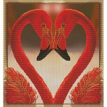 Kit point de croix - Nova Sloboda - Histoires de coeur