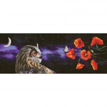 Kit point de croix - Nova Sloboda - Papillon de nuit