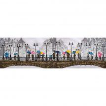 Kit point de croix - Nova Sloboda - Jour de pluie