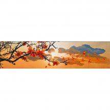 Kit point de croix - Nova Sloboda - Coucher de soleil au printemps