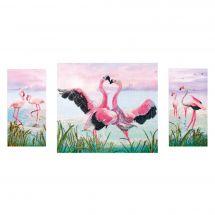 Kit point de croix - Nova Sloboda - Danse des flamants roses