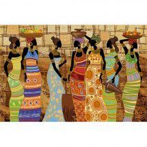 Kit de broderie avec perles - Nova Sloboda - Beautés africaines