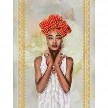 Kit de broderie avec perles - Nova Sloboda - Ethiopie