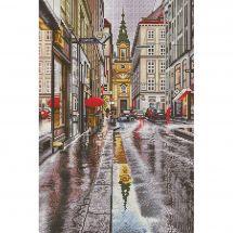 Kit point de croix - Nova Sloboda - Sous la pluie